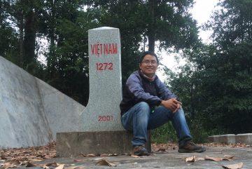 Cột mốc 1302 trên đường tuần tra biên giới Đông Bắc