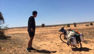 Tôi và hành trình xe đạp trên cung đường ven biển Ninh Thuận