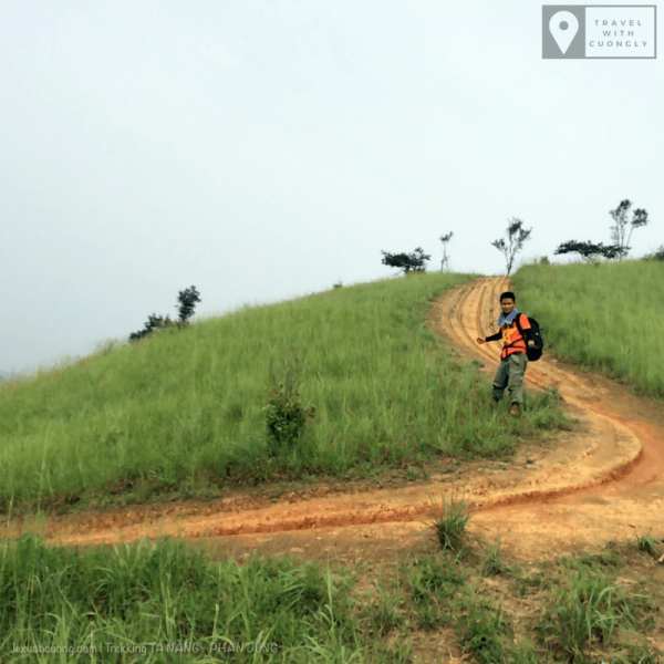 Con dốc có những đường cong bởi xe máy, Toạ độ: 11.4883, 108.5789