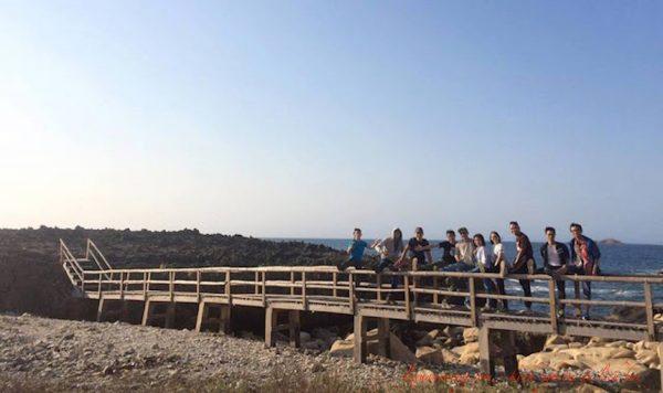 Khối san hô cổ ở Hang Rái