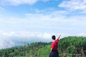 May mắn bắt gặp biển Mây trên núi Chứa Chan
