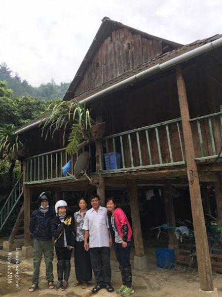 Homestay nhà chú Tơn, người dân tộc Thái.