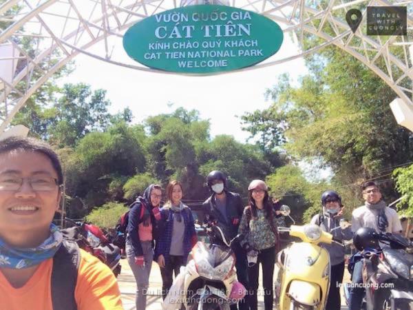 Cổng Vườn quốc gia Nam Cát Tiên