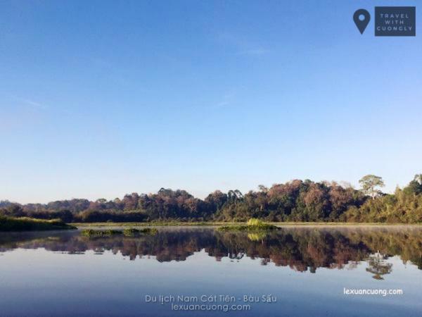 Bàu Sấu, điểm hấp dẫn giữa rừng Nam Cát Tiên
