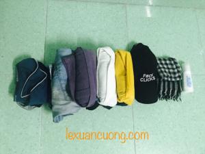 Chuẩn bị quần áo khi đi du lịch nước ngoài