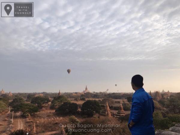 Bagan - Myanmar mờ ảo mới những quả khinh khí cầu đầy màu sắc