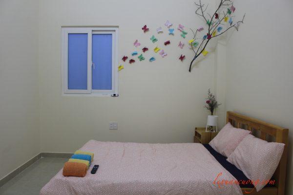 Phòng couple dành cho cặp đôi tại 4 quarters homestay dalat