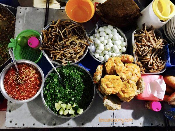 Nguyên liệu để làm nên tô bánh canh chả cá siêu ngon vùng Mũi Né