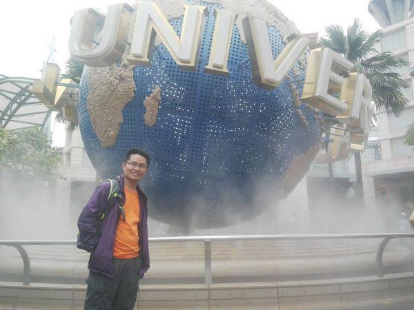 Công viên giải trí Universal Studion ở Singapore khá hấp dẫn và thu hút nhiều khách du lịch đến thăm và vui chơi.
