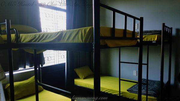 Giường ngủ dorm tại OME Hostel - 32 Chu Văn An, Quy Nhơ