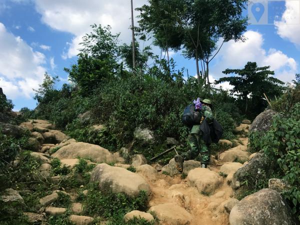 Đừng leo Bạch Mộc Lương Tử xuất phát từ Sàng Ma Sáo, Bát Xát, Lào Cai