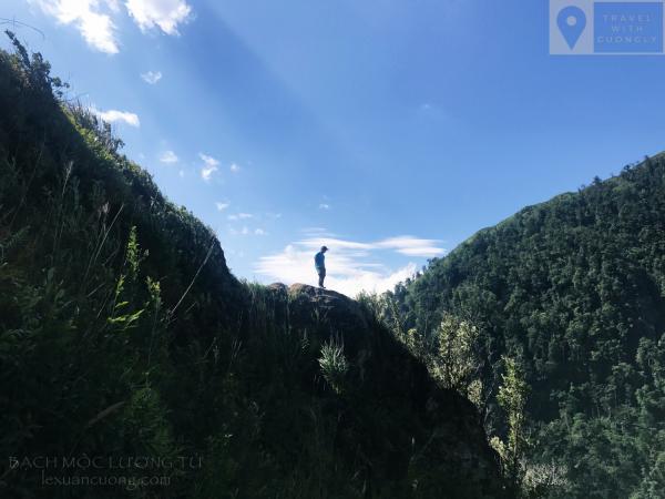 Những vách núi cao đầy hấp dẫn