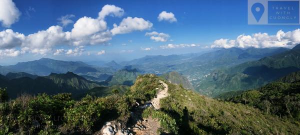 Hướng dẫn leo núi Bạch Mộc Lương Tử