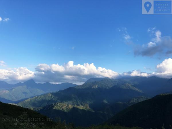 Bạch Mộc Lương Tử - Đỉnh núi đẹp của vùng Tây Bắc