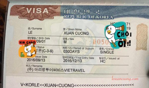 Kinh Nghiem xin VISA HAN QUOC 600x356 - Hướng dẫn xin VISA du lịch Đài Loan online (giấy phép nhập cảnh) trong 15 phút