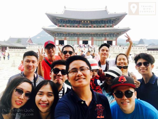 Chuyến du lịch Hàn Quốc năm 2016