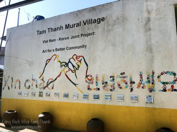 Bức tường ghi dấu tích của mối quan hệ Việt - Hàn tại làng Bích Hoạ Tam Thanh