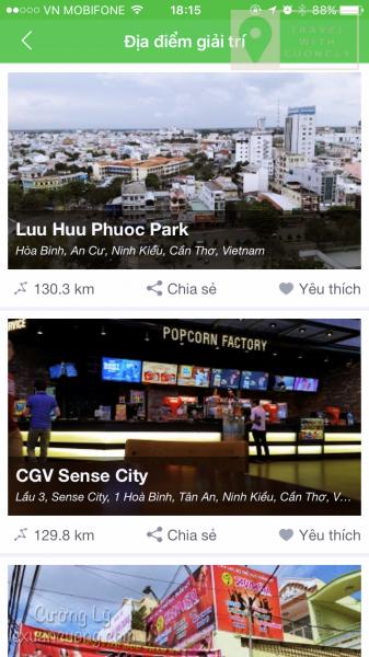 Apps Joco - bây giờ đi đâu? - Mạng xã hội du lịch