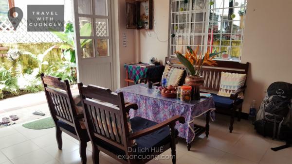 Phòng khách ở Deja Vu homestya, Huế