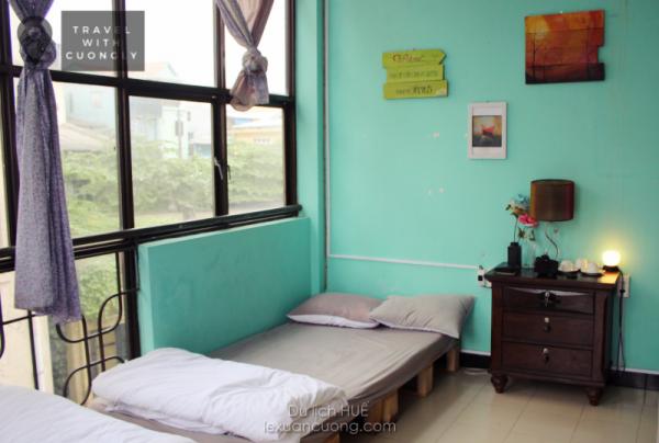 Phòng ngủ ở Deja Vu homestya, Huế