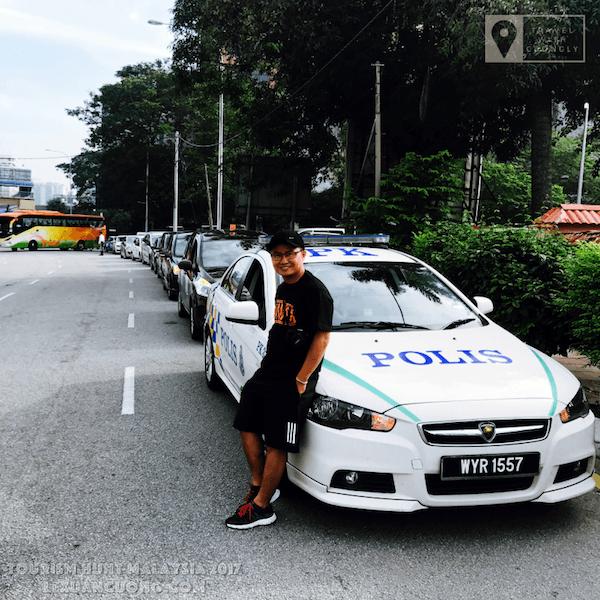 Dàn xe được tài trợ để di chuyển trong chương trình ASEAN MEDIA BLOGGERS TOURISM HUNT 2017 tại Malaysia