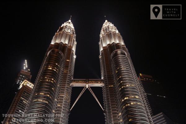 Tháp đôi PETRONAS - biểu tượng của đất nước MALAYSIA