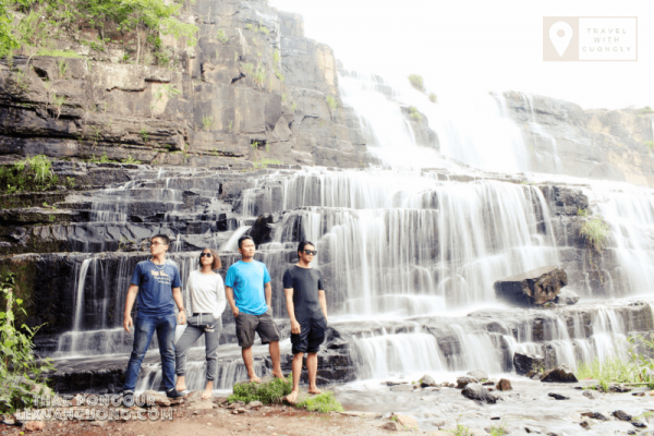 Team Go Explore Việt Nam tại tác Pongour