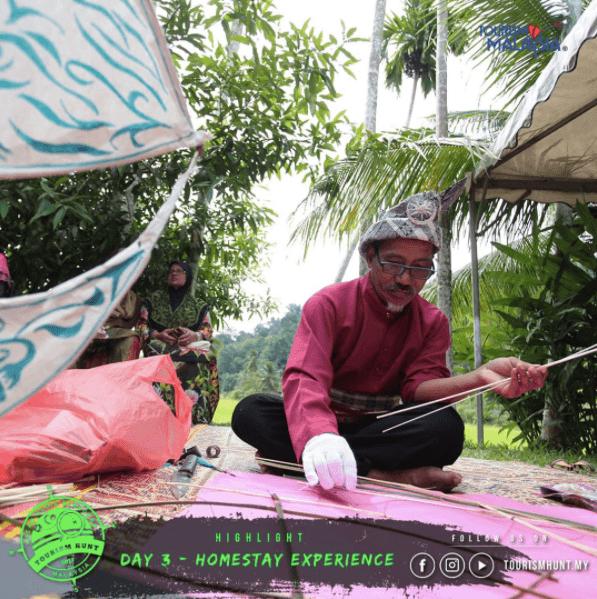 Làm diều truyền thống của người Malaysia