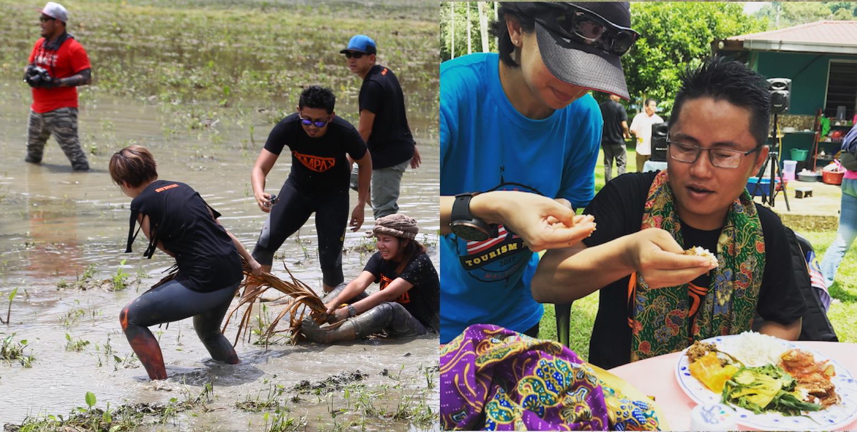 Trải nghiệm ăn uống và lội ruộng tại malaysia