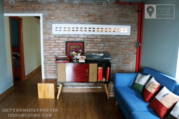 Phòng khách của July's Home Stay Phú Yên
