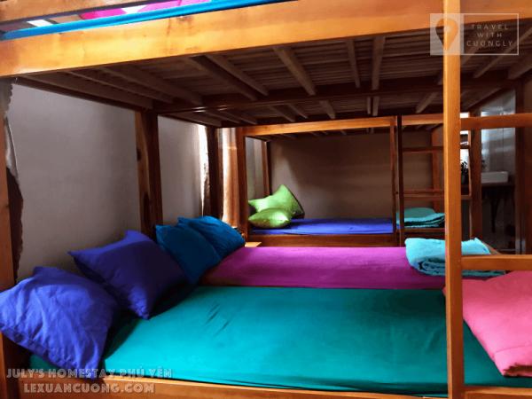 Phòng dorm ở July's homestay