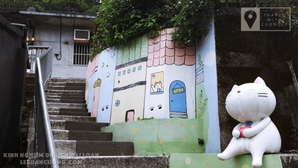 Kinh nghiệm DU LỊCH ĐÀI LOAN 02 lexuancuong.comCửu Phần Thập Phần Làng Mèo 600x338 - Tổng quan du lịch Đài Loan - Lịch trình và Kinh nghiệm du lịch bụi Đài Loan 6 ngày