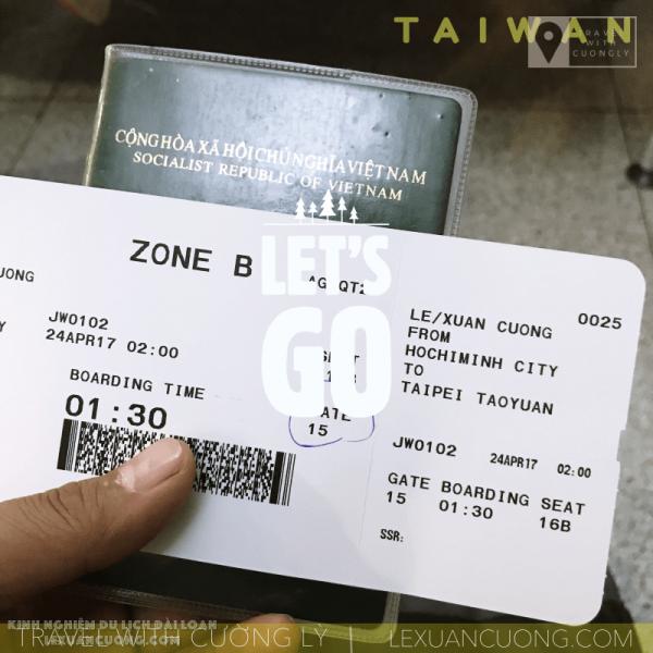 Sẵn sàng cho chuyến du lịch khám phá Đài Loan