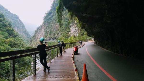 Những hẻm núi đặc trưng chạy dọc sông của công viên Torako - Hualien - Đài Loan