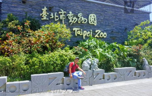 Taipei Zoo - sở thú cách trung tâm Đài Bắc với khoảng 30p tàu điện.