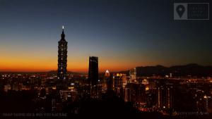 Lên núi Voi, ngắm Tháp TAIPEI 101 và hoàng hôn đẹp nhất Đài Bắc