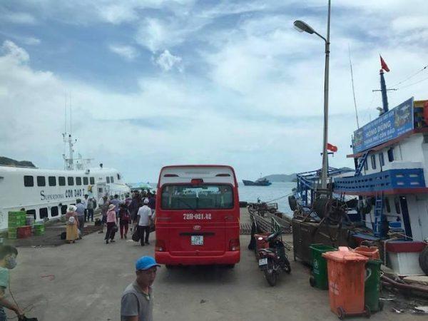 Cảng Bến Đầm, Côn Đảo.