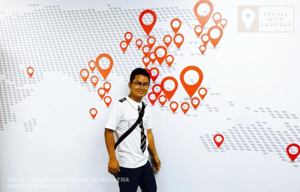 Những nơi có đường bay của Air Asia.