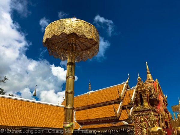 Chùa Doi Suthep, Chiang Mai, Thái Lan.