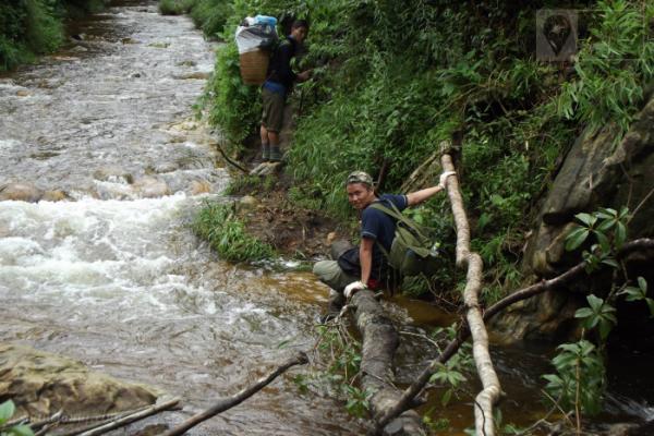 Hành trình chinh phục Fansipan vượt qua nhiều suối, dốc cao... và những khu rừng đẹp nguyên sơ.