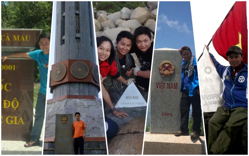 4 cực 1 đỉnh - thu hút những người yêu thích du lịch khám phá. Cực Bắc: Lũng Cú. Cực Nam: Cà Mau Cực Tây: A Pa Chải Cực Đông: Mũi Đôi Đỉnh Fansipan 3143m.