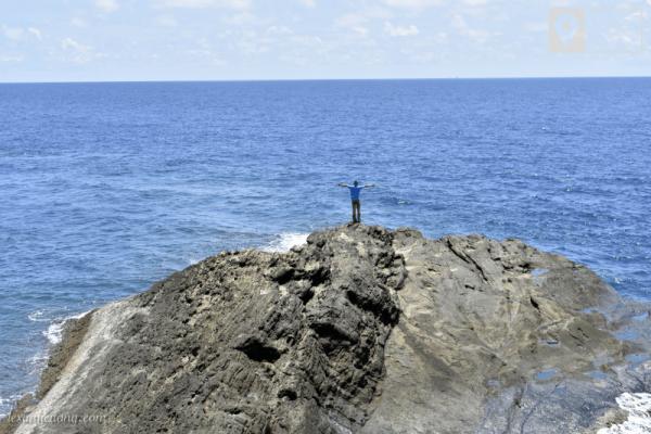 Mêng mông biển trời Hòn Hải - nơi đánh dấu chủ quyền Việt Nam.