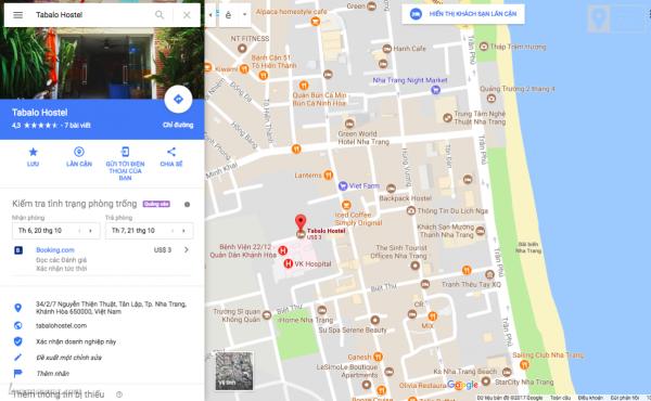 Tabalo hostel Nha Trang nằm khá gần với tháp Trầm Hương và Sailing Club.