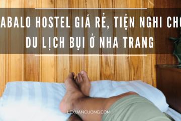 Tabalo hostel giá rẻ, tiện nghi cho du lịch bụi ở Nha Trang