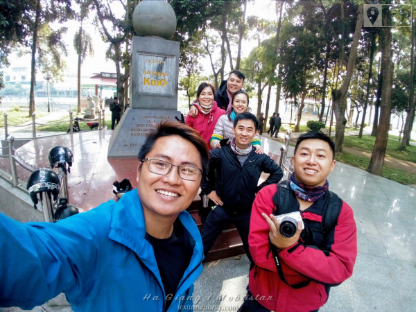 Cột mốc 0km tại Hà Giang - chụp bằng Mobiistar ZumboS2 Dual.