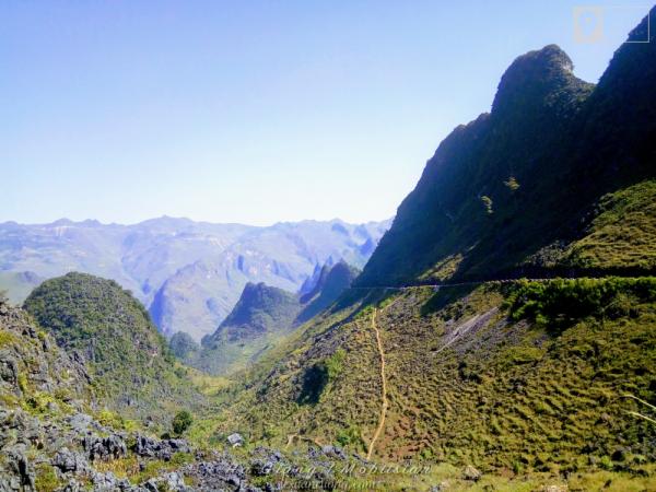 Đèo Mã Pí Lèng, một trong tứ đại đỉnh đèo Phía Bắc.