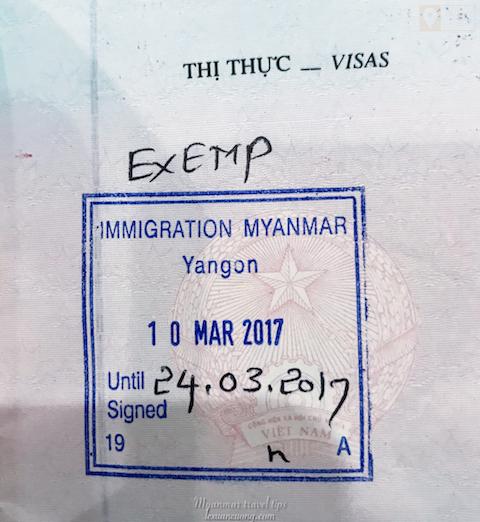Nhập cảnh Myanmar bạn chỉ cần hộ chiếu còn hạn sử dụng.