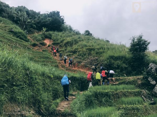 Những con dốc đầu tiên bao giờ cũng cao & khó đi.