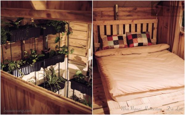 Phòng khu vườn dành cho couple nè.