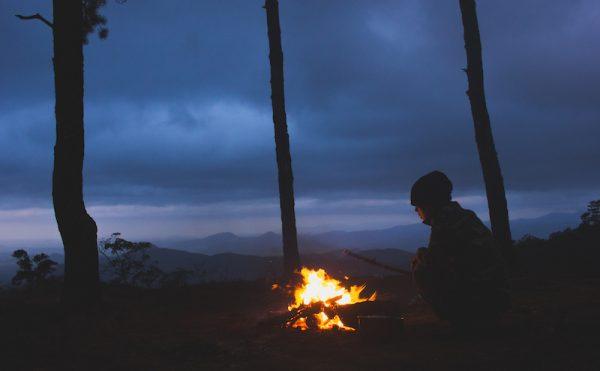 Một đêm bên đống lửa bập bùng giữa núi rừng Tà Năng.